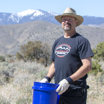 Pine Nut Mt. Trails Association Clean Ups
